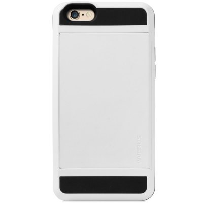 ФОТО Practical Card Holder TPU and PC Material Back Case Cover for iPhone 6 Plus  -  5.5 inches