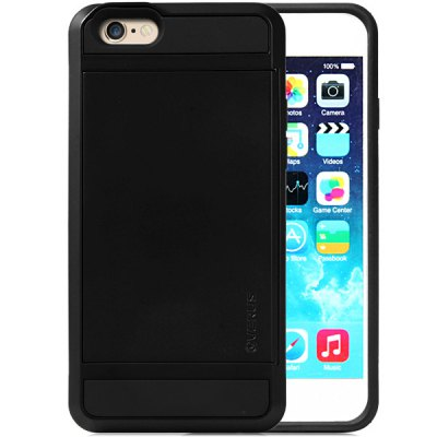 ФОТО Practical Card Holder TPU and PC Material Back Case Cover for iPhone 6  -  4.7 inches