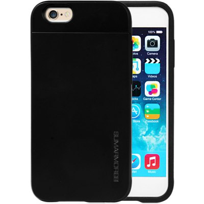 Practical Card Holder TPU and PC Material Back Case Cover for iPhone 6 Plus  -  5.5 inchesiPhone Cases/Covers<br>Practical Card Holder TPU and PC Material Back Case Cover for iPhone 6 Plus  -  5.5 inches<br><br>Compatible for Apple: iPhone 6 Plus<br>Features: Back Cover, With Credit Card Holder<br>Material: Plastic, TPU<br>Style: Special Design<br>Color: Red, Blue, Green, Gold, Black, Silver, Pink<br>Product weight : 0.057 kg<br>Package weight : 0.127 kg<br>Product size (L x W x H): 16.1 x 8.1 x 1.2 cm / 6.3 x 3.2 x 0.5 inches<br>Package size (L x W x H) : 19 x 10 x 2 cm<br>Package contents: 1 x Case