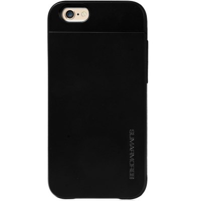 Гаджет   Practical Card Holder TPU and PC Material Back Case Cover for iPhone 6  -  4.7 inches iPhone Cases/Covers