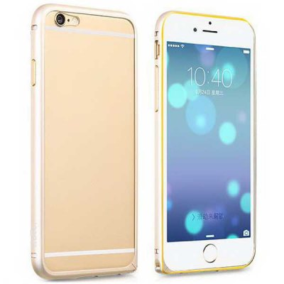 Гаджет   Hoco 4.7 inch PC Phone Cover Protector Back Case Skin with Metal Frame for iPhone 6 iPhone Cases/Covers