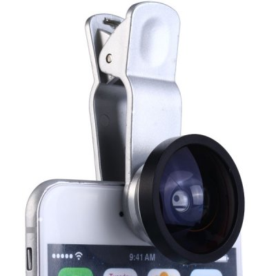 Фотография HE - 022 Clamp Camera Lens 0.4X Super Wide Angle for iPhone 6 / 6 Plus iPad Samsung and Most of Smart Phone