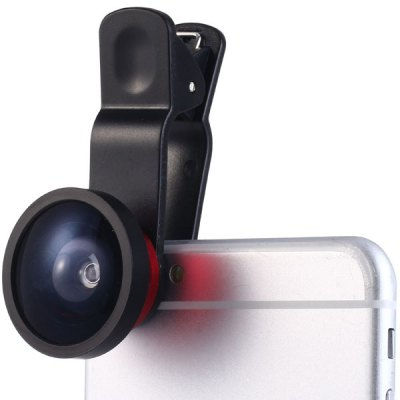 HE - 022 Clamp Camera Lens 0.4X Super Wide Angle