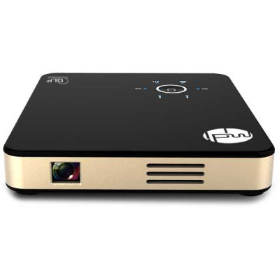 Фотография MDI M3 Plus High Compatibility 500LM 854 x 480 Pixels DLP Projector with MHL Function Support Miracast DLAN Airplay