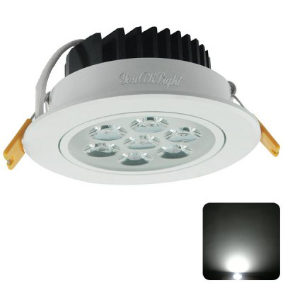 YouOKLight 7W 7 SMD 2835 LEDs 600Lm 6000K LED Ceiling Lamp