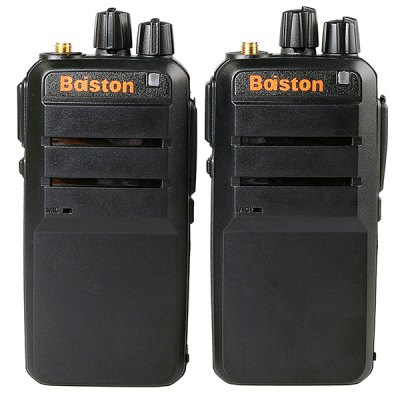 2Pcs Professional BST  -  560 Walkie Talkie Super Slim Intelligent Chip Transceiver Charger ( 220  -  240V / 110cm )Walkie Talkies<br>2Pcs Professional BST  -  560 Walkie Talkie Super Slim Intelligent Chip Transceiver Charger ( 220  -  240V / 110cm )<br><br>Type : Two way radio<br>Power Supply: 4.2V 2800mAh li - battery<br>Frequency Range : 400-490 MHZ<br>Intercom Distance : 3-5km<br>Memory Channels: 16<br>Frequency Stability : ±2.5 ppm<br>Transmit Power: 5w<br>Product Weight  : 0.13 kg<br>Package Weight  : 0.635 kg<br>Product Size (L x W x H)  : 22.8 x 6 x 3 cm / 9.0 x 2.4 x 1.2 inches<br>Package Size (L x W x H) : 26 x 18 x 6 cm<br>Package Contents: 2 x Walkie Talkie, 2 x Short Antenna (5cm), 2 x Long Antenna (12cm), 2 x Strap with Belt Clip (22cm), 2 x AC Power Charger Adapter (US Plug, 220-240V, 110cm), 2 x Professional Earphone (140cm), 2 x Ch