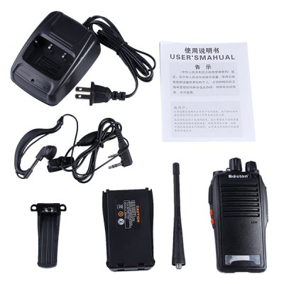 Top New Professional 5W BST  -  688 Walkie Talkie with SCF NR Function Earphone ( Charger Input AC110  -  240V )