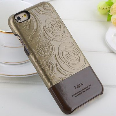 ФОТО Kajsa PU + PC Protective Back Hard Case of Rose Pattern Design for iPhone 6  -  4.7 inches