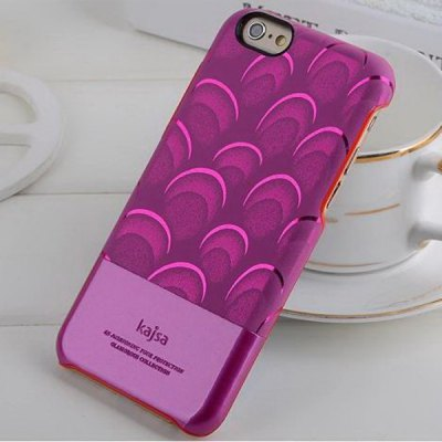 Гаджет   Kajsa Stylish Bloom Pattern PU Leather and PC Hard Back Case Cover for iPhone 6 Plus  -  5.5 inches iPhone Cases/Covers