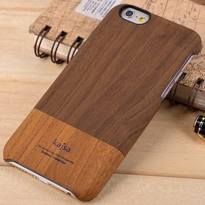 ФОТО Kajsa Practical PC Protective Back Hard Case of Wood Pattern Design for iPhone 6 Plus  -  5.5 inches