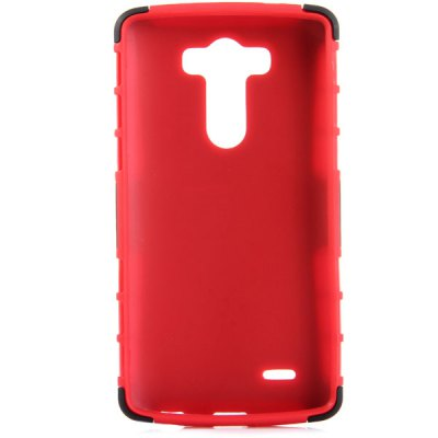 Гаджет   Practical Tyre Texture TPU and PC Back Case Cover with Stand for LG Optimus G3 Other Cases/Covers