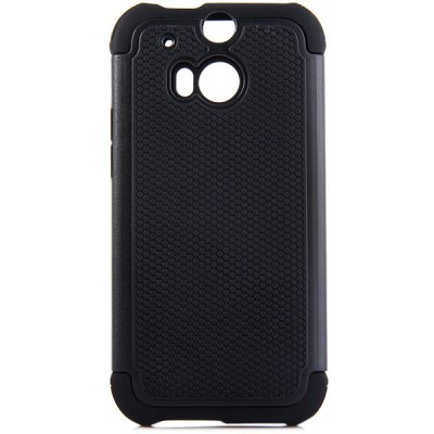 Гаджет   Practical Football Texture Silicone and PC Back Case Cover for HTC M8 Other Cases/Covers