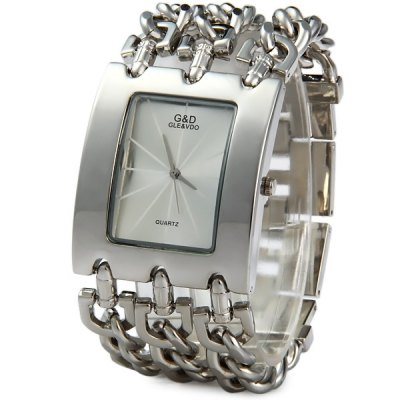GND Quartz Chain Watch