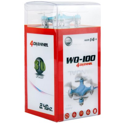 Гаджет   Portable WQ  -  100 2.4G 4CH 6 Axis Quadcopter with 3D Stunt Fly UFO RC Quadcopters