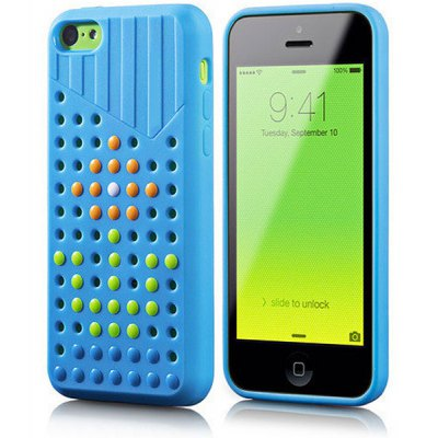 Case Cube Protective Phone Back Cover Case TPU Material for iPhone 5 / 5S