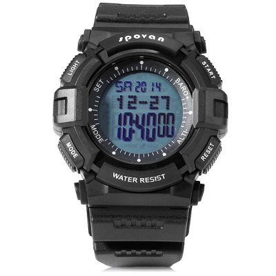 Гаджет   Spovan Blade IV - A Sports Blade Watch Water Resistant Multi - function World Time Thermometer Altimeter Watches Women