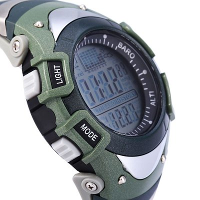 Фотография Foxguider FX704S Military Digital Fishing Barometer Watch Thermometer Altimeter Water Resistant Multifunction Sports Wristwatch