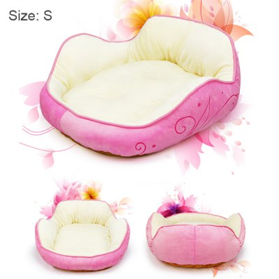 Sleeping Beauty Like Princess Pet Bed for Miniature Poodle Mini Schnauzer Pekingese etc.