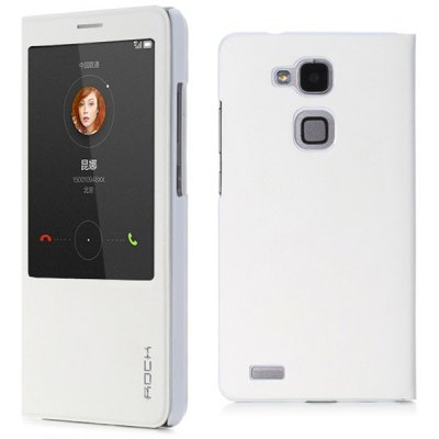 Rock Practical PU and PC Cover Case for Huawei Mate 7
