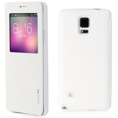 Rock Smart Sleep PU and PC Cover Case for Samsung Galaxy Note 4 N9100