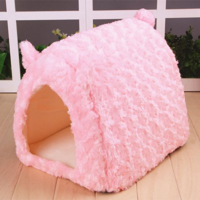 sweet-pig-design-pet-dog-bed-doghouse-kennel-cozy-space-for-miniature-poodle-mini-schnauzer-pekingese-etc