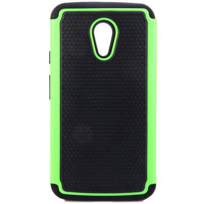 Фотография Practical Football Texture Silicone and PC Back Case Cover for Moto G2