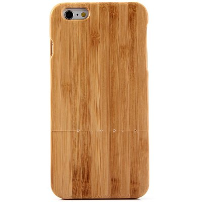 Гаджет   Fashionable Bamboo Back Case for iPhone 6 Plus  -  5.5 inches iPhone Cases/Covers