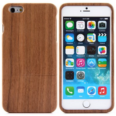 Black Walnut Back Case for iPhone 6 Plus - 5.5 inches