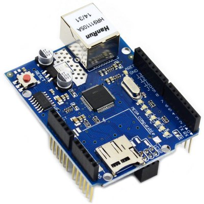 W5100 DIY Ethernet Shield Network Expand Module Board for Arduino SD Card Expansion