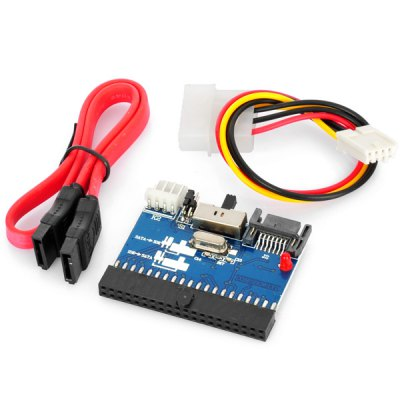 Фотография Practical 1.5Gbps Two Way IDE to SATA / SATA to IDE Bi  -  Directional Adapter Card Converter Board