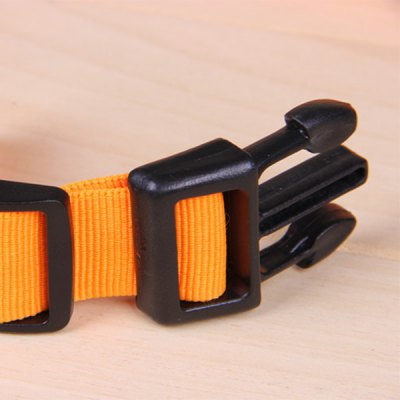 Фотография Pet Dog LED Safety Collar for Night Walking Powered by CR2032 Battery