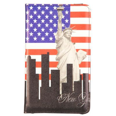 Гаджет   1 Piece Statue of Liberty + American Flag Pattern Tablet PC Protective Case Cover for Samsung Galaxy Tab Pro 8.4 T320 Tablet PCs