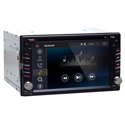 Гаджет   6.2 inch Universal Car 2 Din Radio Pure Android 4.4 DVD Player Dual Core 1.6GHz Car DVD Players