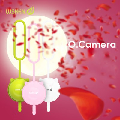 WSKEN Compact Bluetooth Remote Control Camera Shutter Self - Timer with One Key Design