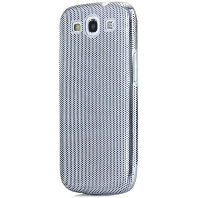 Фотография Mesh Style Back Cover Case with Meatal Material for Samsung Galaxy S3 i9300