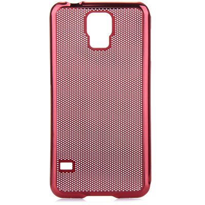Mesh Design Back Cover Case with Solid Color for Samsung Galaxy S5 i9600Samsung Cases/Covers<br>Mesh Design Back Cover Case with Solid Color for Samsung Galaxy S5 i9600<br><br>For: Mobile phone<br>Compatible for Sumsung: Samsung Galaxy S5 i9600 SM-G900<br>Features: Back Cover<br>Material: Metal<br>Style: Solid Color, Metal Finish, Grid Pattern, Special Design<br>Color: Gold, Silver, Black, Red<br>Functions: Camera Hole Location<br>Product weight: 29 g<br>Package weight: 0.08 kg<br>Product size (L x W x H) : 14 x 7.2 x 0.5 cm / 5.5 x 2.8 x 0.2 inches<br>Package size (L x W x H): 15 x 8.5 x 1.5 cm<br>Package Contents: 1 x Back Cover Case