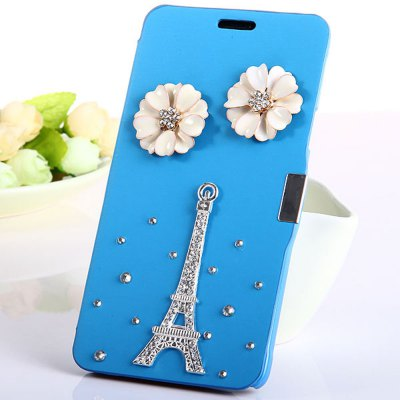PU and PC Back Cover Case for Samsung Galaxy Note 4 N9100