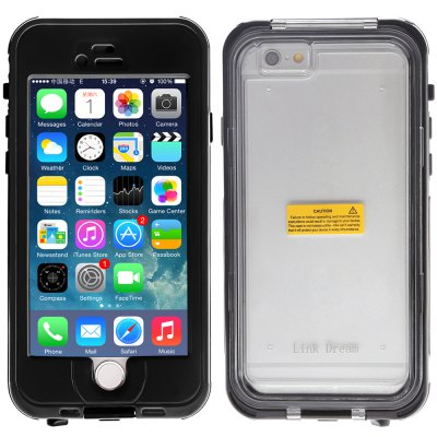 ФОТО Link Dream Practical Transparent Waterproof PC and TPE Protective Case for iPhone 6  -  4.7 inches