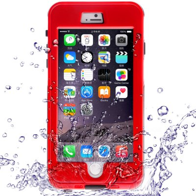 Link Dream TPE and PC Waterproof Cover Case for iPhone 6 Plus - 5.5 inches