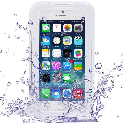 Link Dream Transparent Waterproof PC and Silicone Protective Case with Stand for iPhone 6  -  4.7 inches