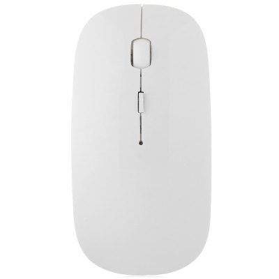E01 Super Slim 2.4GHz Wireless Optical Mouse with Receiver 4 Keys for Desktop Laptop PC Computer