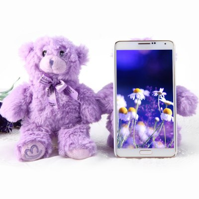 PC Material Lavender Bear Back Cover Case for Samsung Galaxy Note3 N9000