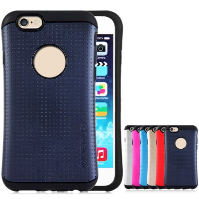 ФОТО Stylish TPU and Plastic Material Back Case Cover for iPhone 6  -  4.7 inches