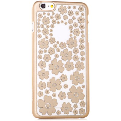 ФОТО Stylish Empaistic Many Flowers Pattern Plastic Back Case Cover for iPhone 6 Plus  -  5.5 inches