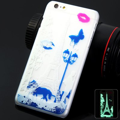 Glow in the Dark Luminous Cover Case for iPhone 6 Plus