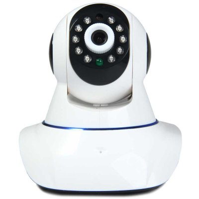 E6813 1.0MP P2P H.264 Pan - Tilt Wireless IP Camera Support TF Card ONVIF Protocol with Alarm Function  -  100  -  240V