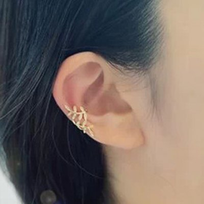 ONE PIECE Chic Stylish Women's Leaf Shape Decorated Earring