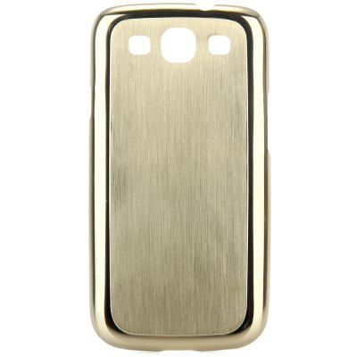 Фотография Brushed Design Back Cover Case with Solid Color for Samsung Galaxy S3 i9300