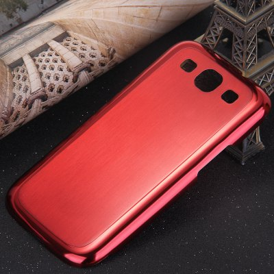 Brushed Back Cover Case for Samsung Galaxy S3 i9300