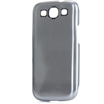 ФОТО Mesh Style Back Cover Case with Meatal Material for Samsung Galaxy S3 i9300